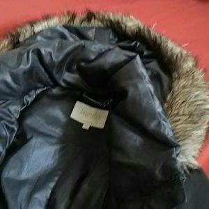 Shelli Segal Laundry Hooded Puffer Size M EUC